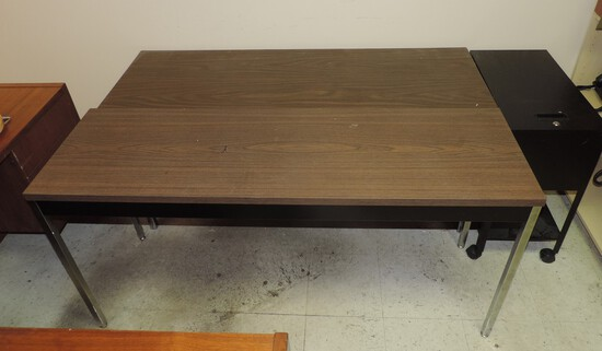 Pair Of Office Side Tables