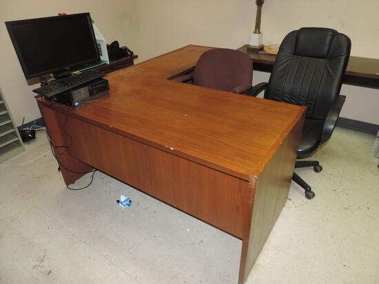 Exception L Shape Office Desk