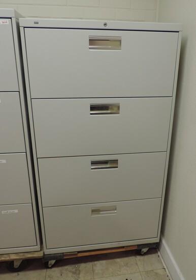4 Drawer Hon Hanging File Cabinet