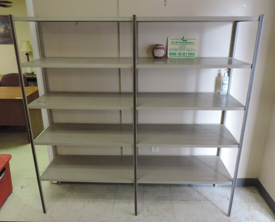 Double Metal Wall Shelf
