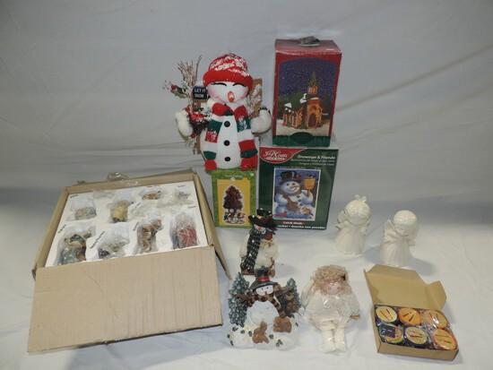 3 Lots Christmas Decorations