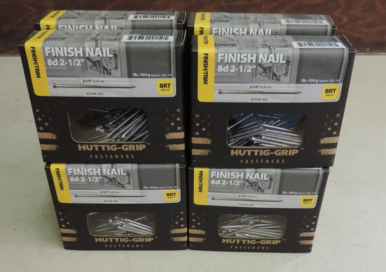 Lot of (8) 1 Pound Nails