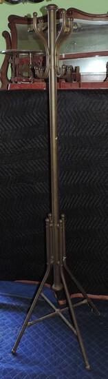 Victorian Brass Hat Rack