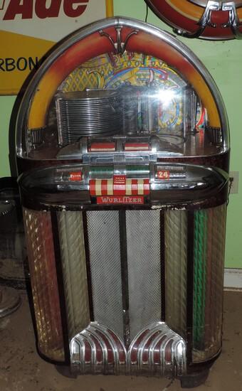 Scarce Original Wurlitzer Dome Top Jukebox Model 1100