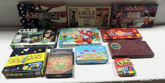 Lot Of 11 Board Games