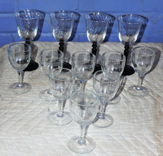 Lot of Barware Glasses