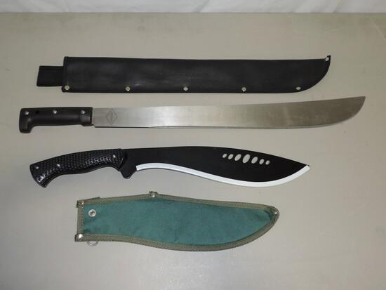 Express Machete & Kukri Knife