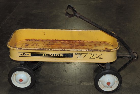 Vintage Junior Yellow 7X  AMF Wagon