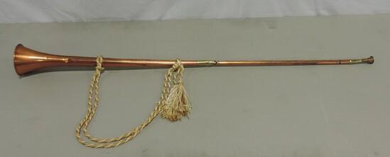 Copper & Brass Long Handle Horn