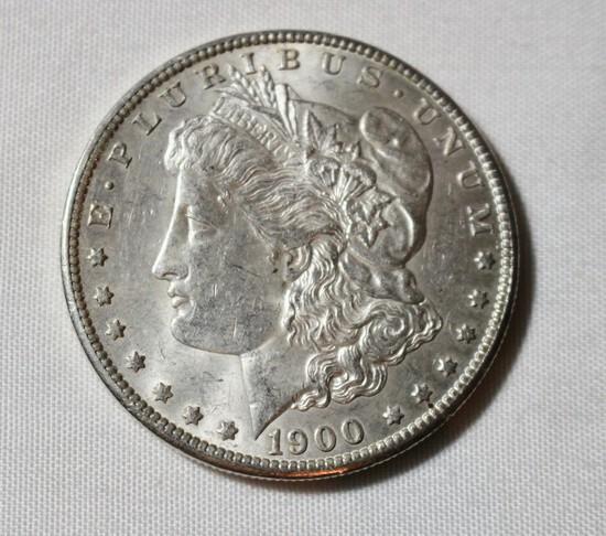 1900 O Uncirculated Morgan Silver Dollar