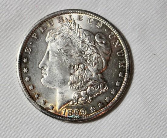 1899 O Uncirculated Morgan Silver Dollar