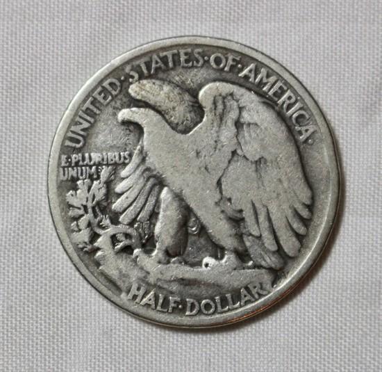 1921 Walking Liberty Half Dollar Key Date