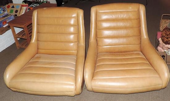 Pair of Vintage Gaming Chairs
