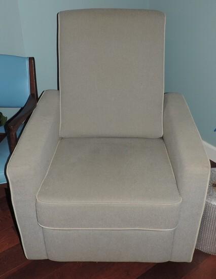 Extra Nice Modern-Style Swivel Rocking Chair