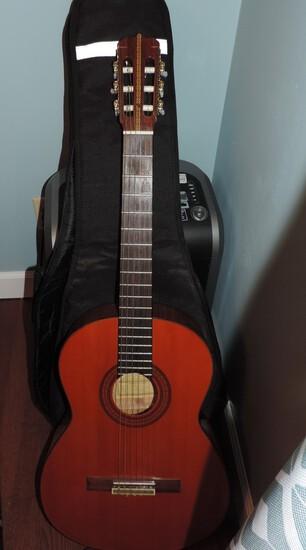 Vintage 1974 Garcia #2 Guitar with Case