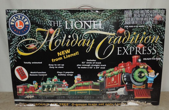 Lionel Holiday Tradition Express G Gauge Train Set
