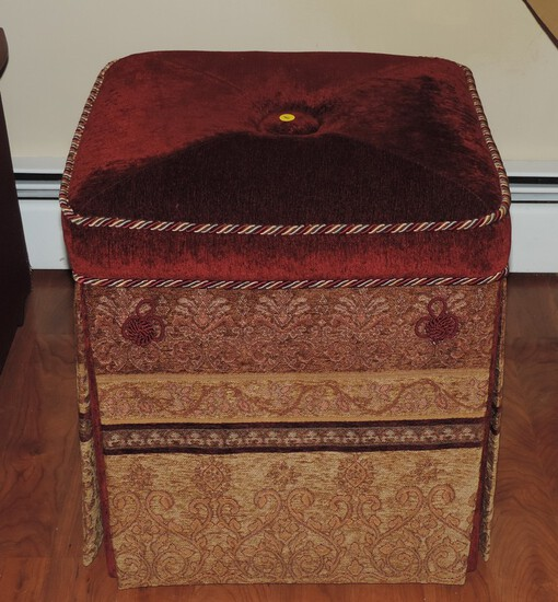 Fancy Dress Maker Style Footstool