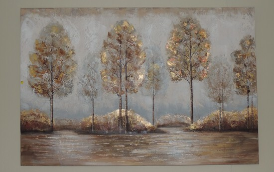 Decorative Oil on Canvas Painting