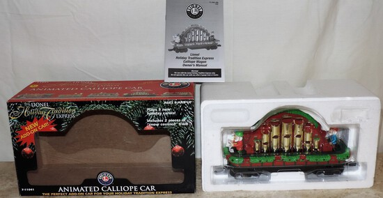 Lionel Animated Calliope Car