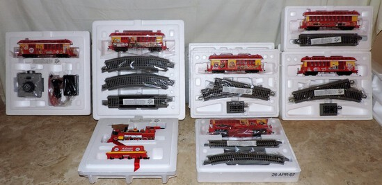 Hawthorne Village McDonald's Train Set