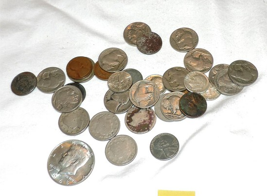 Lot of Vintage US Coins