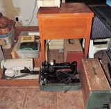 Lot of (3) Vintage Sewing Machines