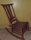 Antique Maple Rocking Chair