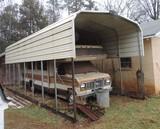 Huge Open Ended Leonard Building  Shelter
