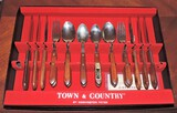 1970's Town and Country Flatware Set