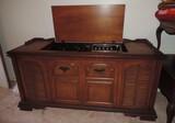 RCA Floor Model 8 Track Player/Stereo Radio