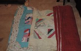 Lot of (3) Vintage NC Quilts