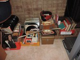 Lot of Albums, Tapes, 8 Tracks, 45's, Books  and More