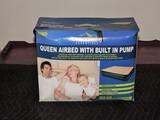NIB Queen Size Air Mattress and Pump