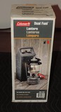 New in Box Coleman Lantern with Hard-shell Case