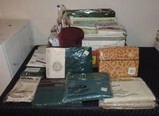 Lot of New Sheets, Pillow Cases, Blankets, and More