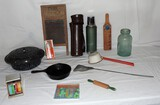 Neat Lot of Good Antique Country Items