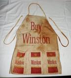 Vintage Winston Tobacco Money Apron