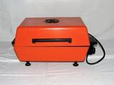 1970's Electric Char B Que Orange Porcelain Grill