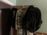 Lot of (3) Vintage Fur Coats