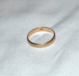 14kt Gold Wedding Band