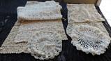 Vintage Dresser Scarves and Knitting