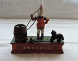 Cast Iron Trick Dog Bank