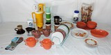 Lot of Household Kitchen Items