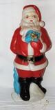 Vintage  Santa Blow Mold