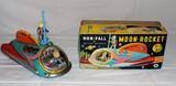 Mint in Box Original Japan Moon Rocket Toy