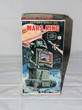 Original Mint in Box MARS KING Battery Operated Robot