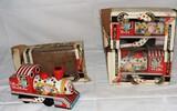 (3) Original Japan Circus Choo Choo Friction Toys