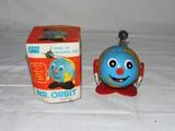 1969 Frankona Products Metal Mr. Orbit Toy