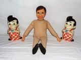 Big Boy and Charlie McCarthy Doll Lot