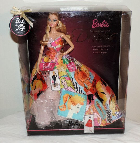 50th Anniversary Dream Barbie Doll